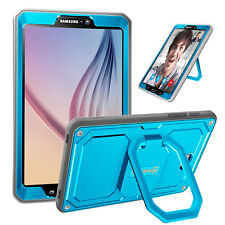 For Samsung Galaxy Tab A 10.1 2016 Tablet SM-T580 Smart Case Cover Grip Stand