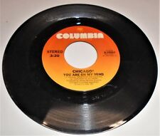 Vinyl Record 45    Chicago    You are on my Mind / Gently I'll Wake you