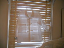 Xenia Design ~ Art to Wear ~ White Boxy Bowfront Blouse ~ 46