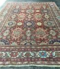 Beautiful Estate Antique Mahal Persian Oriental Rug  Carpet 9 X 12.4