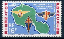 47TIMBRE POLYNESIE NEUF P.A. N° 8 ** RALLIEMENT DE LA FRANCE LIBRE COTE 18,70 €