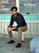 Publicité Advertising 078  2012  chaussures baskets homme Feiyue