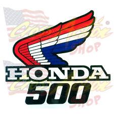ADESIVI STICKER LOGO ALA HONDA HRC 500 FIANCATINE RADIATORE SERBATOIO MOTO SX