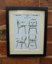 USA patent vintage rétro designer chaise meubles eames monté imprimer 1948 Cadeau