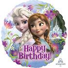 Disney Frozen Elsa & Anna Feuille Ballon Anniversaire Fête Décoration
