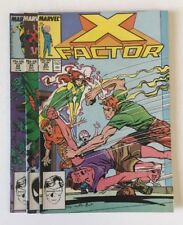 X-Factor #'s 20, 21 & 22 (1987)  Marvel Comics lot of 3