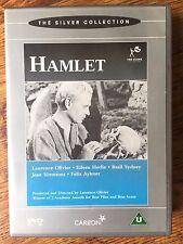 Laurence Olivier Peter Cushin HAMLET ~ 1948 William Shakespeare Classic | UK DVD