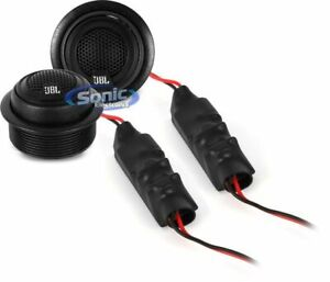 """JBL GTO19T GTO Series 135W 3/4"""" Component Car Tweeter and Passive Crossover Kit"""