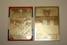 "MICHAEL JORDAN 1998 FLEER  LIMITED EDITION ""1986 ROOKIE"" 23KT GOLD CARD! BULLS!"