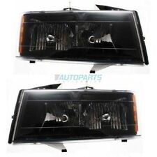 NEW LH & RH HEAD LAMP ASSEMBLY FITS 04-12 CHEVROLET COLORADO GM2502234 GM2503234
