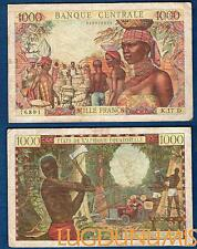 Banque Centrale des Etats de l'Afrique Equatoriale – 1000 Francs TB / TTB  K.17