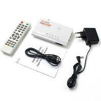HDMI HD DVB-T2 DVB-T TV Box AV CVBS Tuner Receiver Remote Control with MO