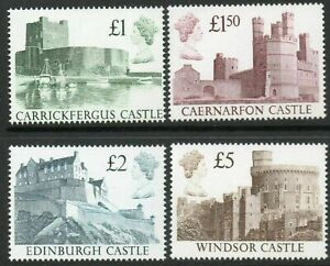 GB 1988 Castles Stamps to £5~4 Values ~Unmounted Mint~UK Seller