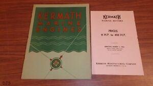 VINTAGE 1934 KERMATH BOAT MOTOR CATALOG BROCHURE 15