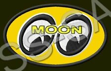 Moon Eyes Patch Motorcycle Parts Hot Rod Nascar Nhra Accessories Drag Racing #3