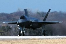 New 5x7 Photo: Lockheed Martin F-35 Lightning II Stealth Multirole Fighter Jet