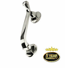 CHROME Doctor Door Knocker | Heavy Duty | Urn Knocker | Traditional Style D3