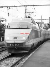PHOTO  FRENCH TRAIN - SNCF TGV