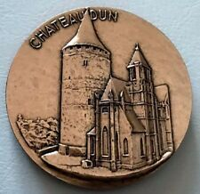 BRONZE MEDAL / FRENCH CASTLE OF CHATEAUDUN / JEAN DUNOIS / 59 mm / N142