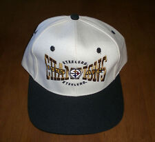 1995 PITTSBURGH STEELERS AFC CHAMPIONS HAT - SNAP BACK