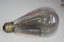 LARGE EARLY CENTURY DOUBLE LOOPED FILAMENT BULB - 115v V32Cp N24 B - Teens-20's
