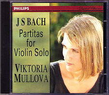 Viktoria MULLOVA: BACH Partita 1-3 for Solo Violin PHILIPS CD BWV 1002 1006 1008