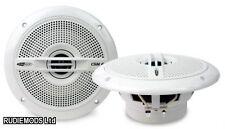 """Caliber csm6 6,5 """"Blanc 17cm 2 voie haut-parleurs marine bateau salle de bain cuisine 1 paire"""
