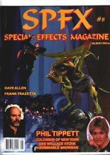 SPFX #8 - Science Fiction film fanzine - Bill Stout on Frank Frazetta