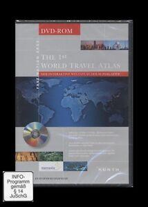 DVD-ROM 1ST WORLD TRAVEL ATLAS (Weltatlas) *** NEU ***