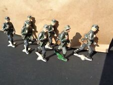 Authenticast Eire SAE HE lot of 7 Mountain troops ww2 54mm lead German soldiers