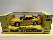 Rare Revell/Jouef 48842 Ford Mustang GT Yellow 1/18 New & Boxed