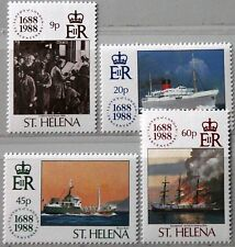 ST HELENA 1988 491-94 501-04 Schiffe Ships Lloyd´s Register Merchants MNH
