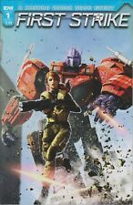 IDW Issue 1 Cover C First Strike  (Comic:Transformers, GI Joe) 2017