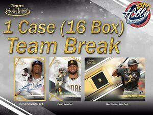 BOSTON RED SOX 2021 Topps GOLD LABEL 1 Case (16 Box) Team Break #1