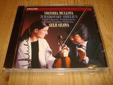Seiji Ozawa Tchaikovsky / Sibelius Violin Concerto CD