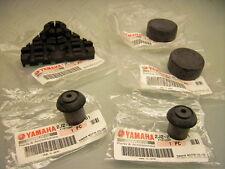 5 PIECES ORIGINALE SERBATOIO YAMAHA Frame locating mounting rubber damper Set SR 500
