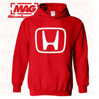 HONDA LOGO IN WHITE HOODIE RED Motocross Hooded Sweatshirt Racing ATV CBR