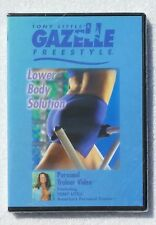 Tony Little's Gazelle Freestyle Lower Body Solution Personal Trainer DVD NEW