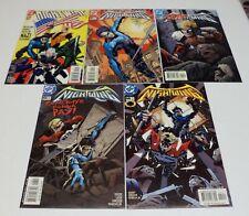 Nightwing #40 #41 #42 #43 & #44 - lot of 5 DC Comics 2000