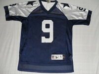 Dallas Cowboys Tony Romo Jersey Youth Reebok Throwback Classic L LArge