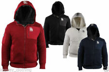 Crosshatch Patternless Hooded Jumpers & Cardigans for Men