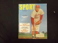 1953 SEPTEMBER SPORT MAGAZINE - ROBIN ROBERTS COVER - GREAT PHOTOS - ST 3547