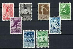Russia 1938 ,  Sport , Sc # 698-705  , MLH *