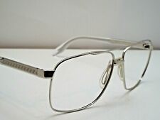 Authentic VERSACE VE2174 1000/6G Clear Silver Sunglasses Frame $360