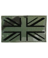 UNION JACK  BTP PATCH LASER CUT BADGE VELCOR BACKING UK Flag cap rucksack