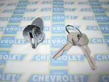 1949-1966 Chevrolet Ignition Switch Key Lock Cylinder w/ Original GM Style Keys