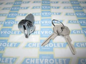 1949-1966 Chevrolet Ignition Switch Key Lock Cylinder w/ Original GM Style Keys