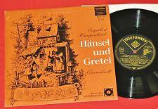 """Humperdinck - 10"""" LP  Hänsel und Gretel, Laude Schöner / Oper Berlin, Martin"""