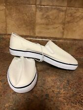 MEN'S ANCHOR BAY CANVAS LOAFER SHOES-SIZE: 12