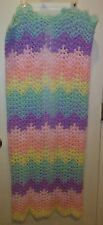 Handmade Multi-color Crochet Blanket